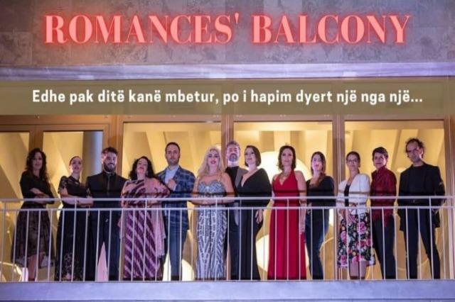 Opera ve Bale Tiyatrosu balkonunda konser