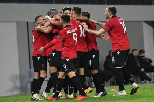 League of Nations / Albania takes the lead of the group, winning over Belarus 3-2