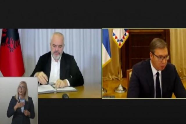 Firmato accordo per libera circolazione Albania-Serbia con carta d'identità, Rama: importante passo