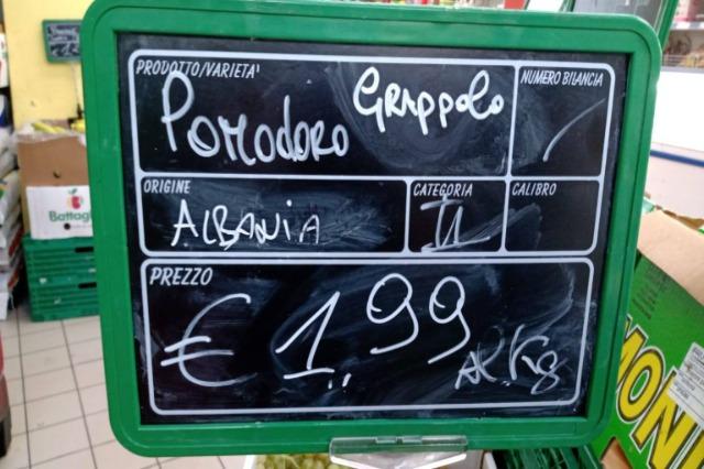 I prodotti agricoli albanesi stanno trovando spazio nei mercati europei