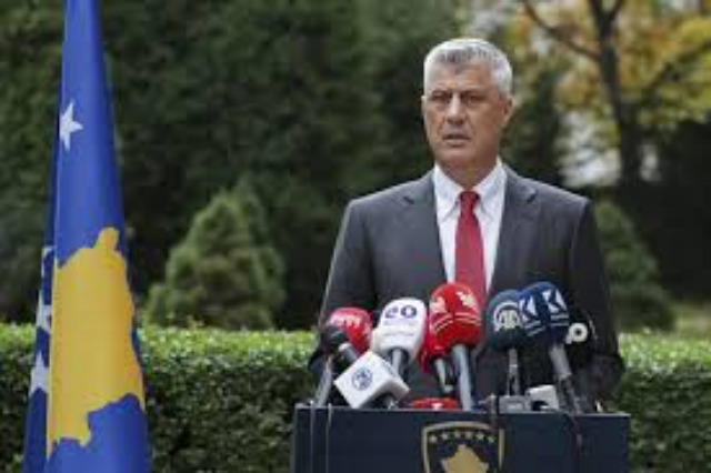 Hashim Thaci resigns to face war crime charges