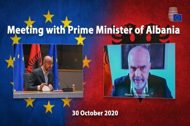 Président du Conseil européen Michel Charles: Nous attendons avec impatience la première conférence intergouvernementale