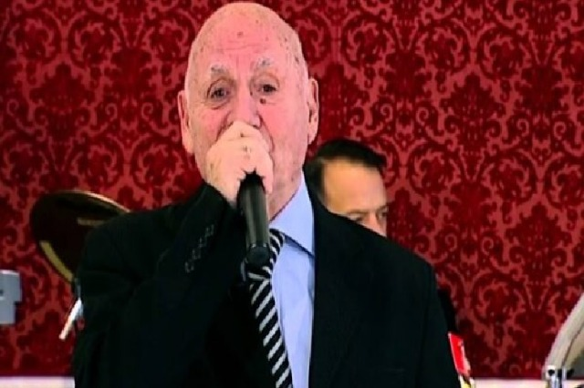 Ismet Peja, successful singer of civic songs passes away at 83