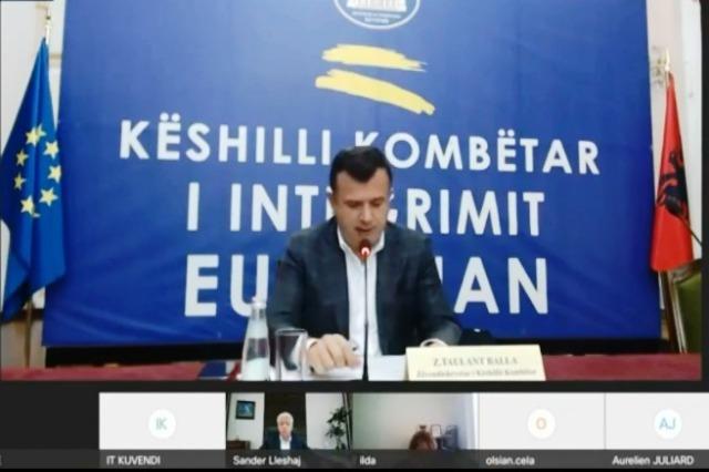 Conseil national pour l'intégration européenne, le principal objectif de l'intégration de l'Albanie