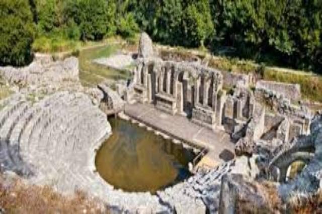 Butrint ist die größte archäologische Stätte in Albanien