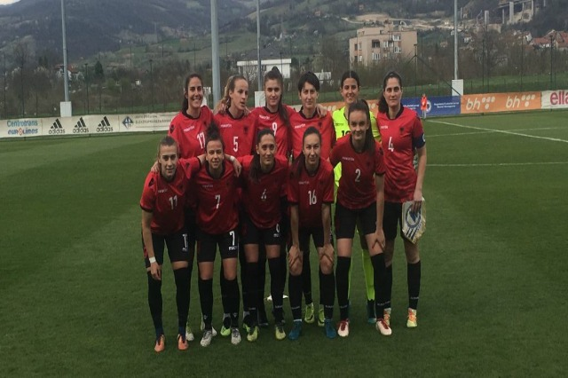 The women's national team wins over Cyprus