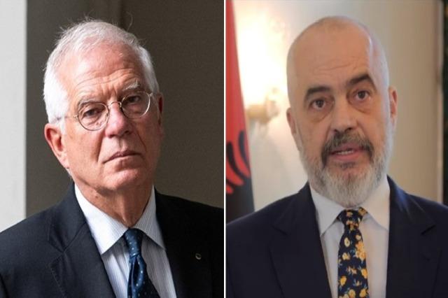 """Borrell s'entretient avec Rama: """"Je salue l'engagement de l'Albanie"""""""