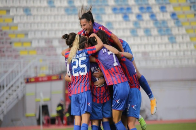 Women's football/ Vllaznia to face FC Minsk in the second round of Champions League