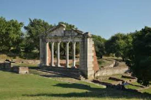 Apolonia wurde 588 vor Christus gegründet