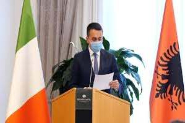 Di Maio: Italy on Albania's side on EU path, fight against corruption key component
