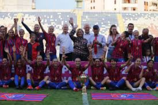 Historic for Albanian women's football, Vllaznia eliminates Turkish champions