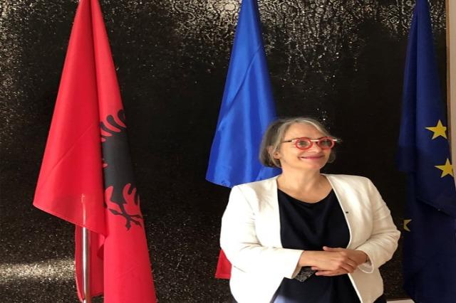 Die französische Botschafterin: Ich werde alles tun, damit Albanien Mitglied der EU wird