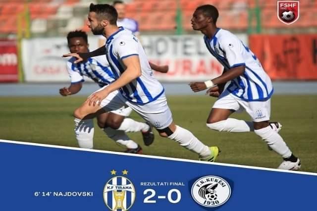 Calcio, Tirana comincia da campione