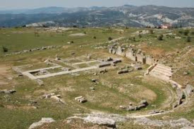 Byllis - eine  wichtige antike Stätte in Südalbanien