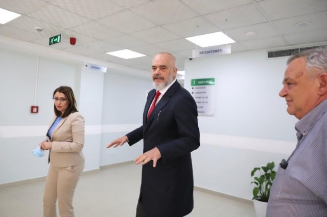 Pm Rama presents COVID 4 hospital and appeals for more care