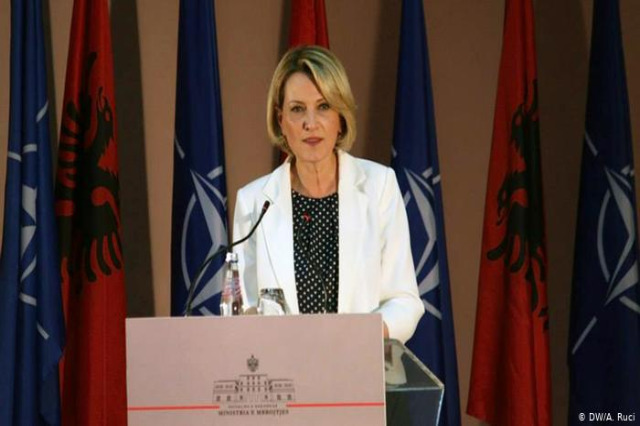 Mimi Kodheli prima albanese ai vertici Nato