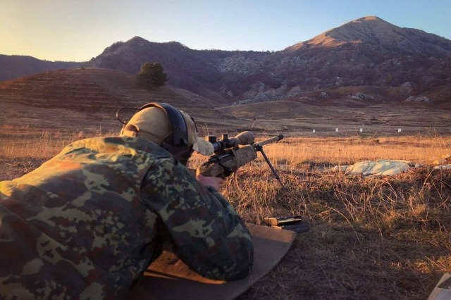 Albanian Armed Forces in joint training with Second Battalion of the Duke of Lancaster Regiment