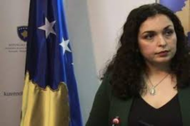 Acting President of Kosovo Vjosa Osmani is paying an official visit to Albania tomorrow