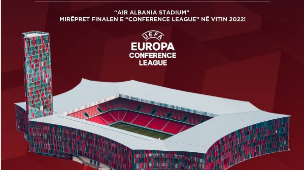 Air Albania will welcome the final of the Conference League 2022