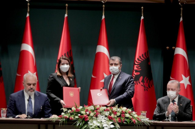 Agreement between the Government of the Republic of Turkey and the Council of Ministers of the Republic of Albania on cooperation in the field of Health signed today