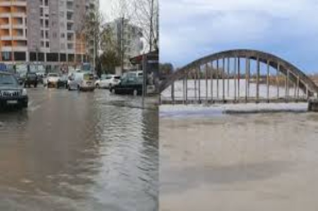Albania hit by severe flooding, maximum readiness of structures in the ground