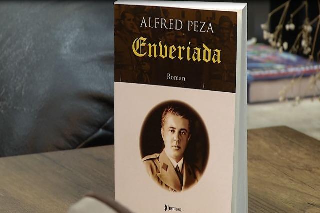 """Ο Αλφρέντ Πέζα κυκλοφόρησε το μυθιστόρημα με τίτλο """"Enveriada"""""""