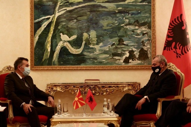 Speaker Gramoz Ruçi met with newly appointed ambassador of N. Macedonia