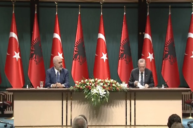 Erdogan: Strengthening our bond with Albania is our duty