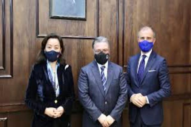US Ambassador Yuri Kim and EU Ambassador Luigi Soreca met with Judicial Appointment Council