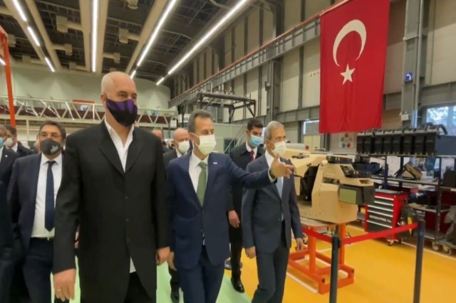Prime Minister Rama visits the heart of the Turkish military industry: Extremely impressive intelligence systems