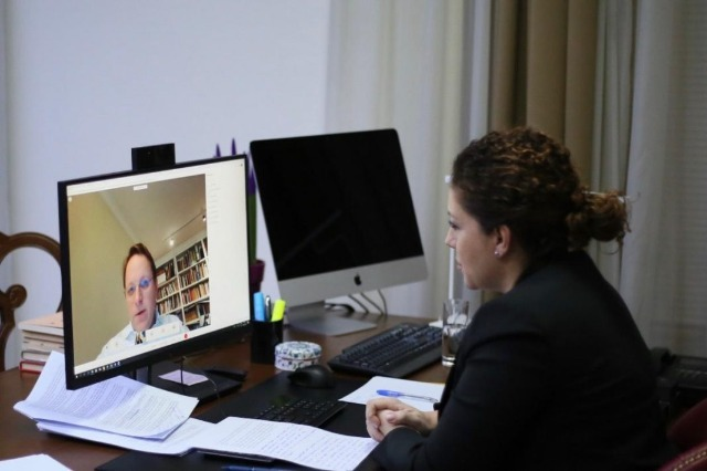 Xhaçka, virtual meeting with Commissioner Varhelyi: Albania has accomplished its duties before the first Intergovernmental Conference
