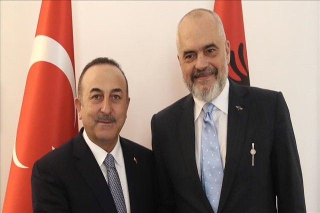 Turkish Foreign Minister calls Pm Rama on negotiations framework with Turkey