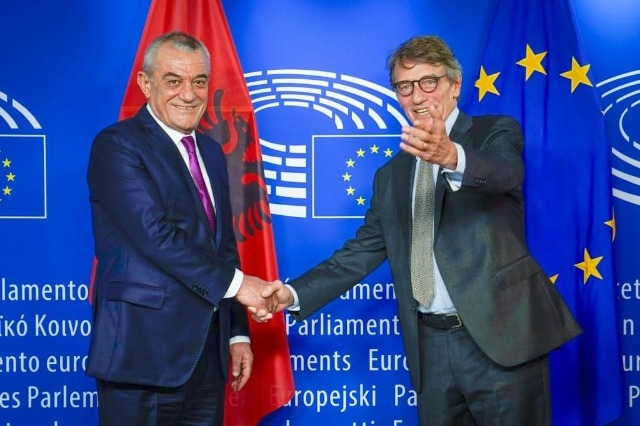 Sassoli: The European Parliament will continue to support Albania on its path to integration