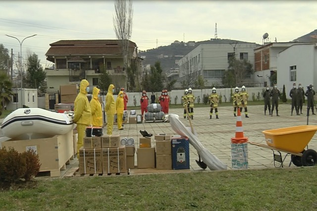 US helps Albanian Armed Forces to cope with floods, Peleshi: These devices increase response capabilities