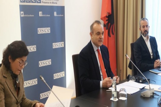 OSCE Chairman-in-Office meets with foreign ambassadors and Celibashi on elections