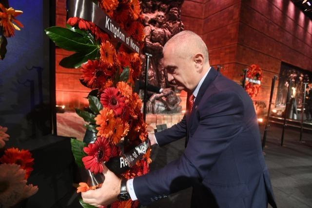 President Meta commemorates International Remembrance Day