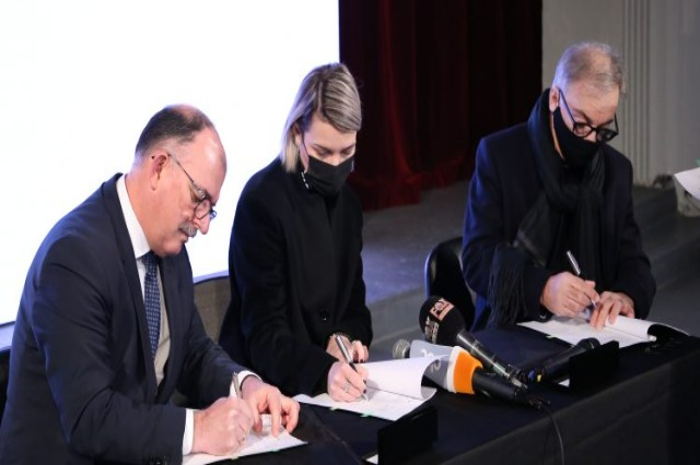 TAP finances 1.7 million Euros, for the restoration of the Concert Hall, at the University of Arts