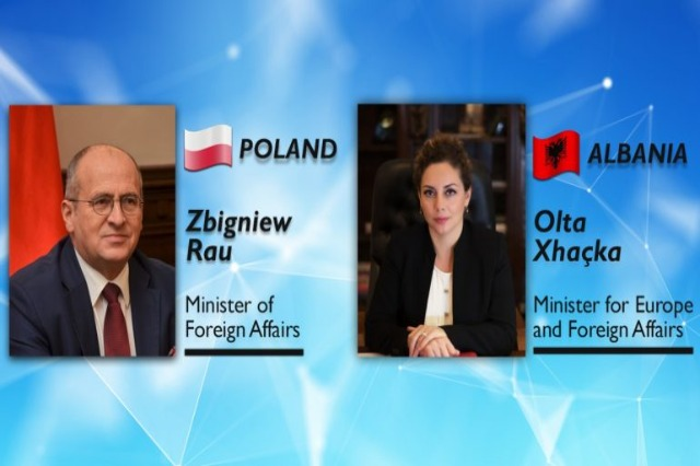 Meeting with Polish counterpart / Xhacka: Integration of the Western Balkans, strategic importance for the EU