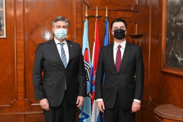 Head of DP Basha met with Croatian PM