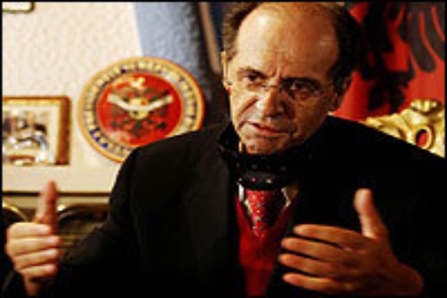 Ibrahim Rugova, una potente voce di pace