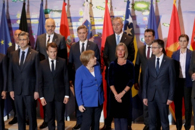 Rama, Merkel, Macron und 20 Weltführer  unterzeichnen einen Post-Pandemie-Vertrag