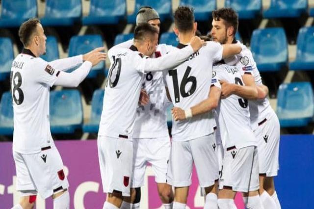Albania wins 1-0 against Andorra