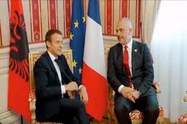 Prime Minister Edi Rama discloses some of the topics discussed with the President of France Emanuel Macron