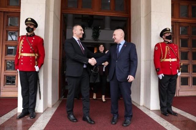 Συνάντηση ΠτΔ Μέτα με τον αντιπρόεδρος της κυβέρνησης της Βόρειας Μακεδονίας