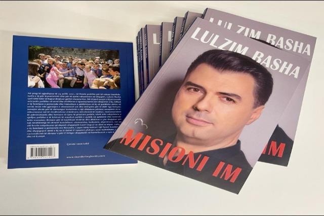"""Der  Vorsitzende der Demokratischen  Oppositionspartei, Lulzim Basha, hat heute sein erstes Buch """"Meine Mission"""" herausgegeben"""