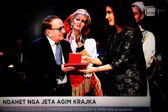 Lutto nel mondo della musica, deceduto il compositore Agim Krajka