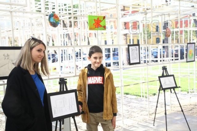 National Cultural Center for Children opens exhibition with 70 drawings, paintings and sculptures of small artists