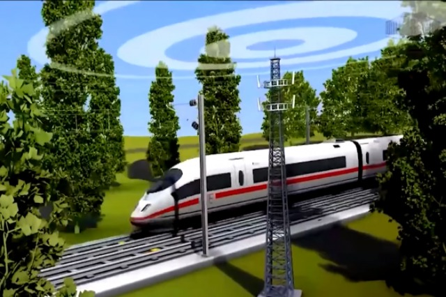 Neue Eisenbahn Tirana-Rinas-Durrës / Die Arbeiten sind abgeschlossen