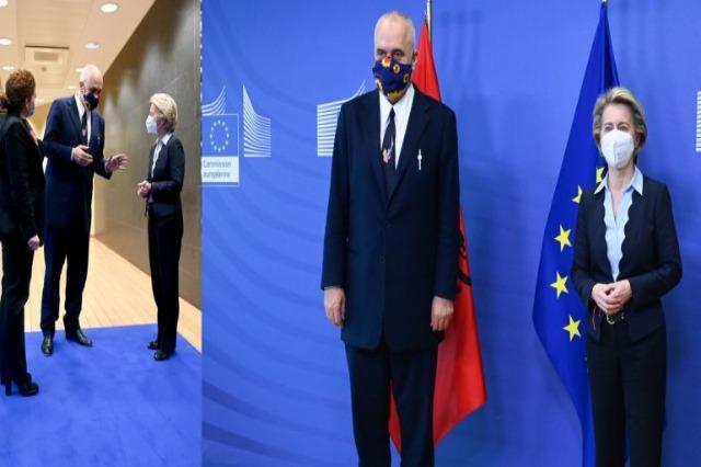 Ursula von der Leyen: Die Zukunft  Albaniens ist in Europa