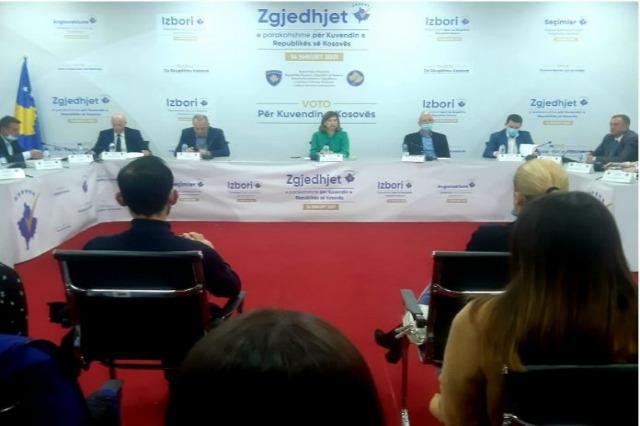 Kosova'daki seçimlerin nihai sonuçları ilan edildi